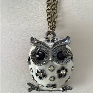 Jewelry - 💜3/30  Hoot Owl Necklace